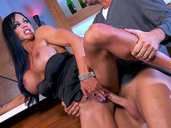 Busty mom Jewels Jade getting fucked standing up