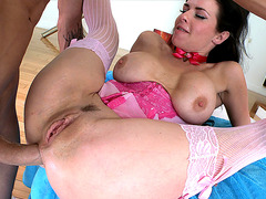 Veronica Avluv enjoys getting her ass pounded