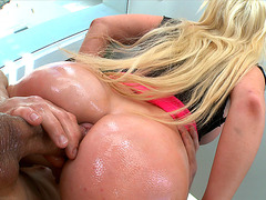 Alexis Ford gets her ass rammed by a fat dick
