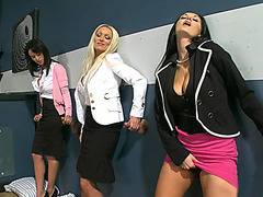 Ava Addams brought Diana Doll, Nikki Delano and Franceska Jaimes to one of her favorite places