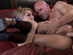 Cheating wife Madison Ivy takes his enormous thing from the rear
