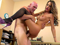 Kortney Kane having office sex in the air