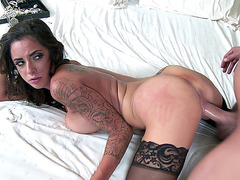 Alexa Aimes loves getting fucked doggy style