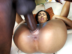 Cherry Hilson gets her pussy ripped by a giant black shlong