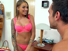 Juelz Ventura teasing her new husband