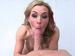Tanya Tate sucking cock in the hospital