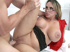 Holly Halston getting her MILF pussy drilled