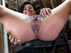 Eva Angelina gets her ass filled with cum