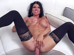 Romi Rain gets fucked in mish