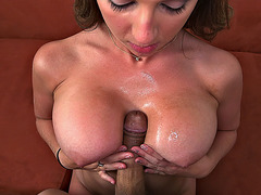 Brooke Wylde titty fucked that dick