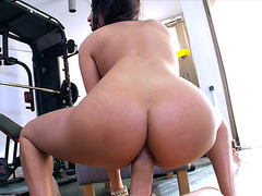 Anissa Kate takes a big dick in her tight asshole