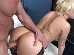 Kagney Linn Karter takes his shlong doggystyle