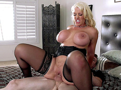 Alura Jenson riding cock hard and fast