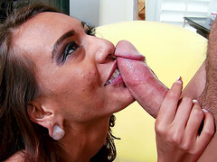 Janice Griffith gets her throat roughly fucked