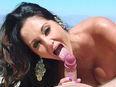 Ava Addams does an incredible head under the sun