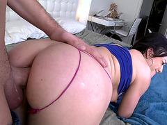 Jennifer White getting slammed anal doggy style