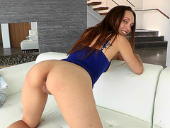 Jade Nile has perfect natural tits and amazing booty