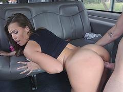 Kelsi Monroe getting pussy slammed by a stranger