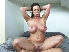Kendra Lust rode hard dick reverse cowgirl