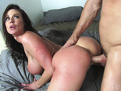 Kendra Lust enjoys getting slammed doggie
