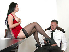 Katrina Jade wants to fuck her new co-worker