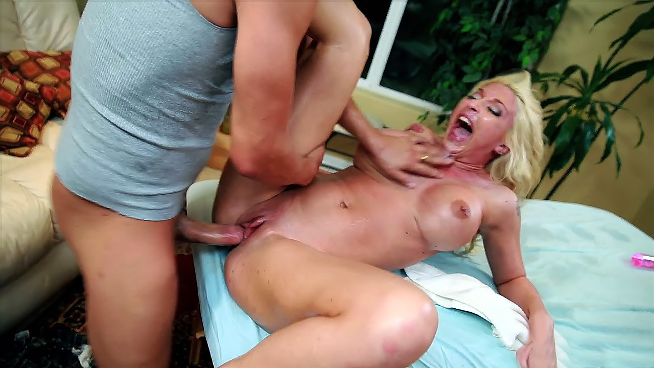 She gets a big dick